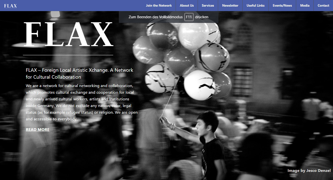 FLAX – Foreign Local Artistic Xchange. A Network for Cultural Collaboration